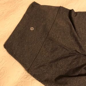 Cropped Grey Lululemon Leggings